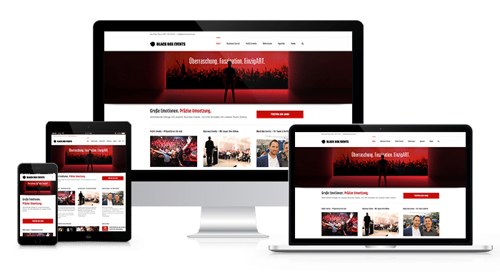 GOALIZE Responsive Webdesign