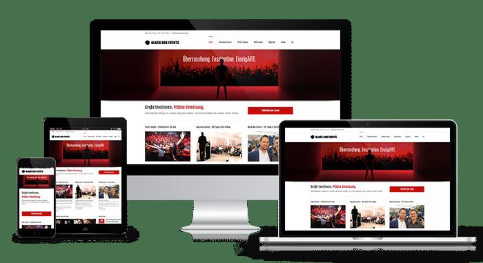 GOALIZE Responsive Webdesign