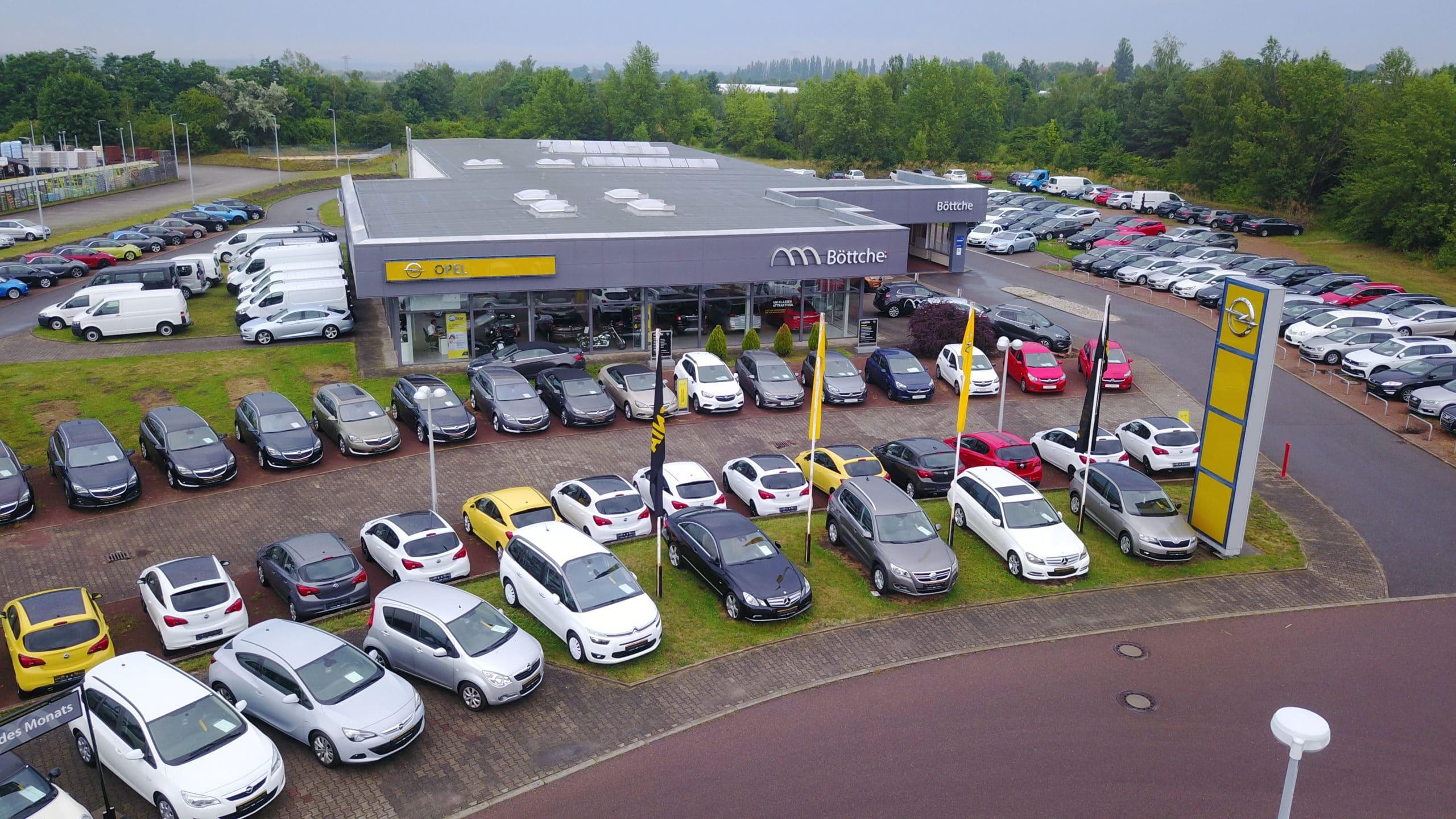Autohaus Drohne Totale